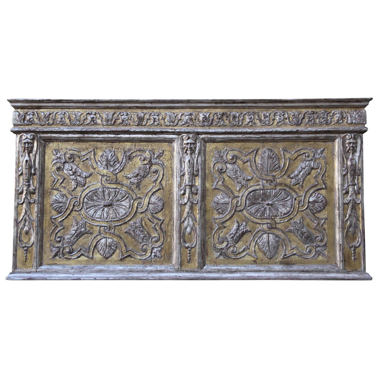 19th Century Carved Italian Panel