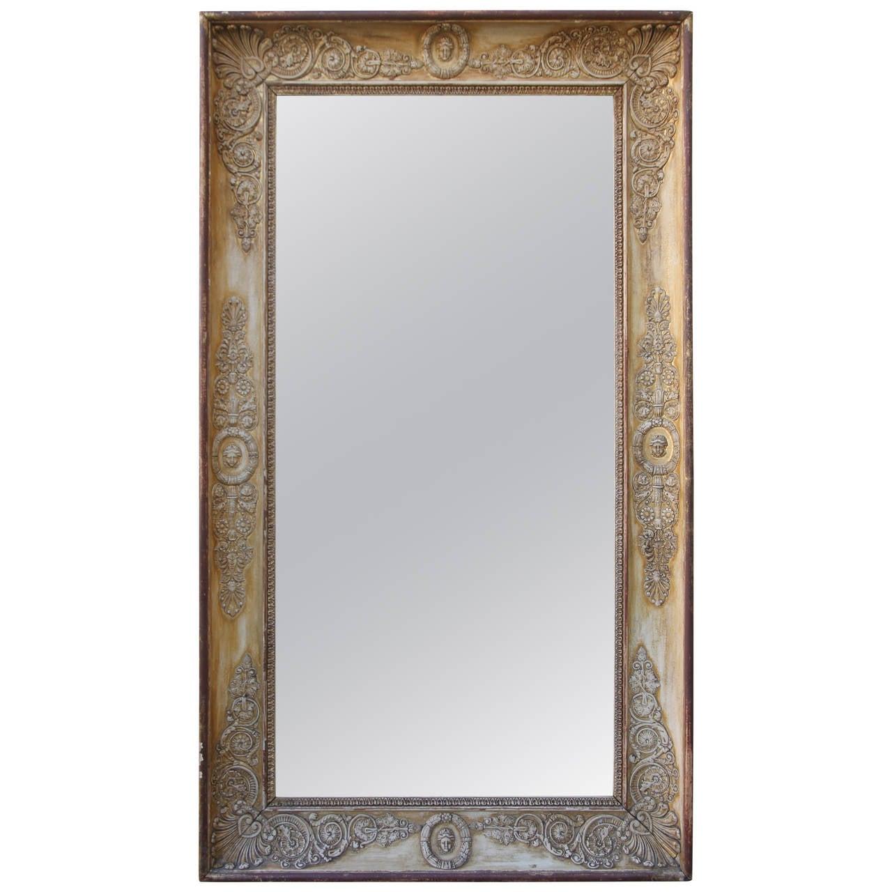 19th Century Italian Giltwood Mirror