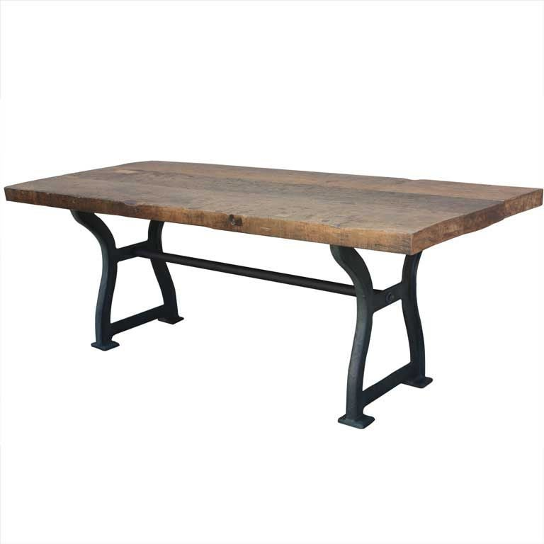 Great Industrial Dining Table at 1stdibs : XXX842813085987941 from www.1stdibs.com size 768 x 768 jpeg 24kB