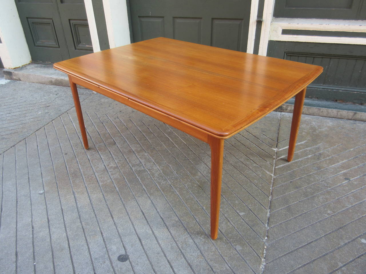 Arne Vodder Refractory Dining Table In Teak Matching Six Chairs Available And Pictured Last