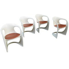 Alexander Begge for Casala Set of 4 Stacking Chairs