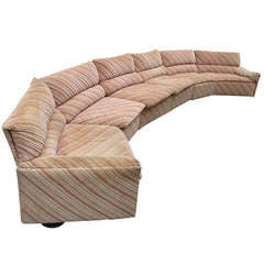 Saporitti Italia Sectional Sofa