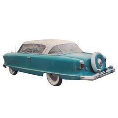 Pininfarina 1954 Nash Country Club Statesman Hardtop Car