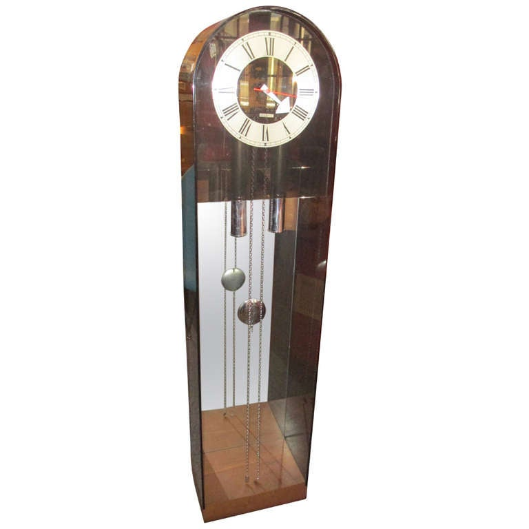 George Nelson For Howard Miller Chiming Grandfather Clock
