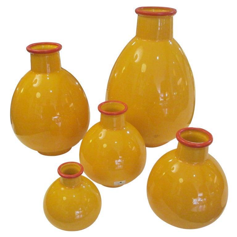 Five Studio Nova By Sommerhuber Austria Vases At 1stdibs