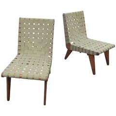 Klaus Grabe Strap Lounge Chairs