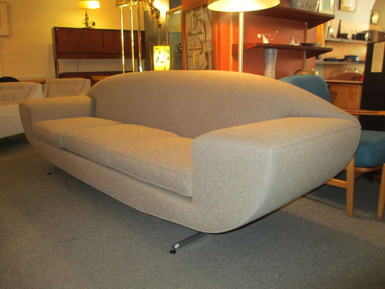 60s capri sofa in the style of johannes andersen at 1stdibs for Furniture 60s style