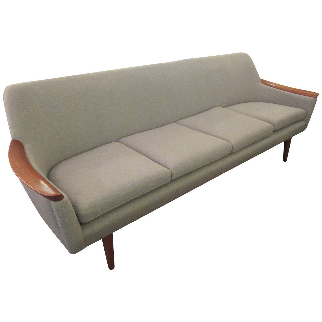 1960s Danish Sofa At 1stdibs