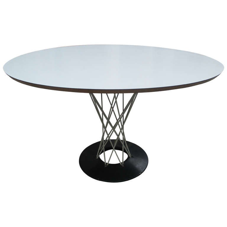 Noguchi Cyclone Table For Knoll Associate At 1stdibs
