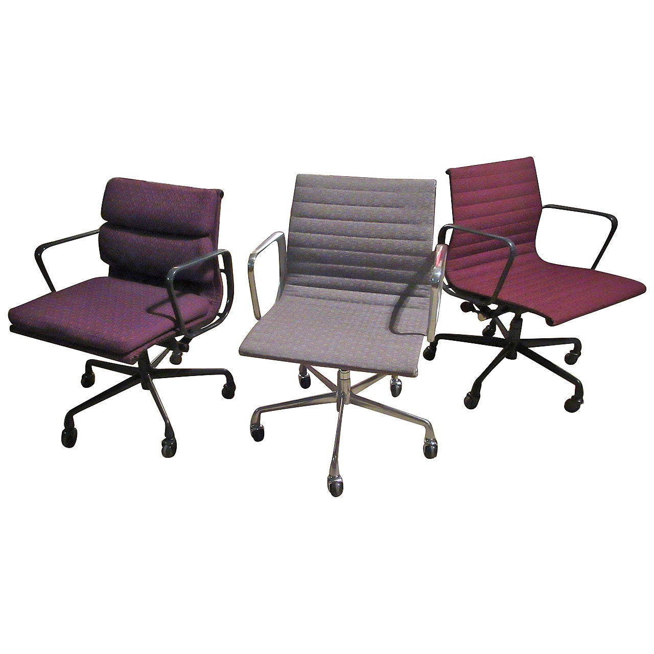 eames management chairs by herman miller at 1stdibs