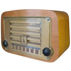 Charles Eames for Emerson Molded  Plywood Radio