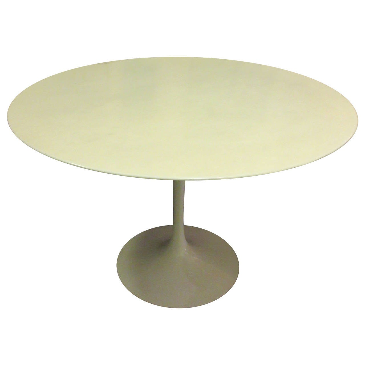 Eero Saarinen For Knoll Marble Tulip Table At 1stdibs