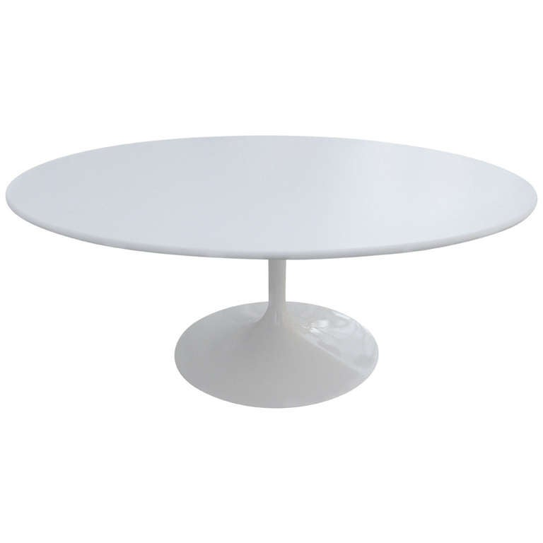 Eero Saarinen Coffee Table For Knoll At 1stdibs