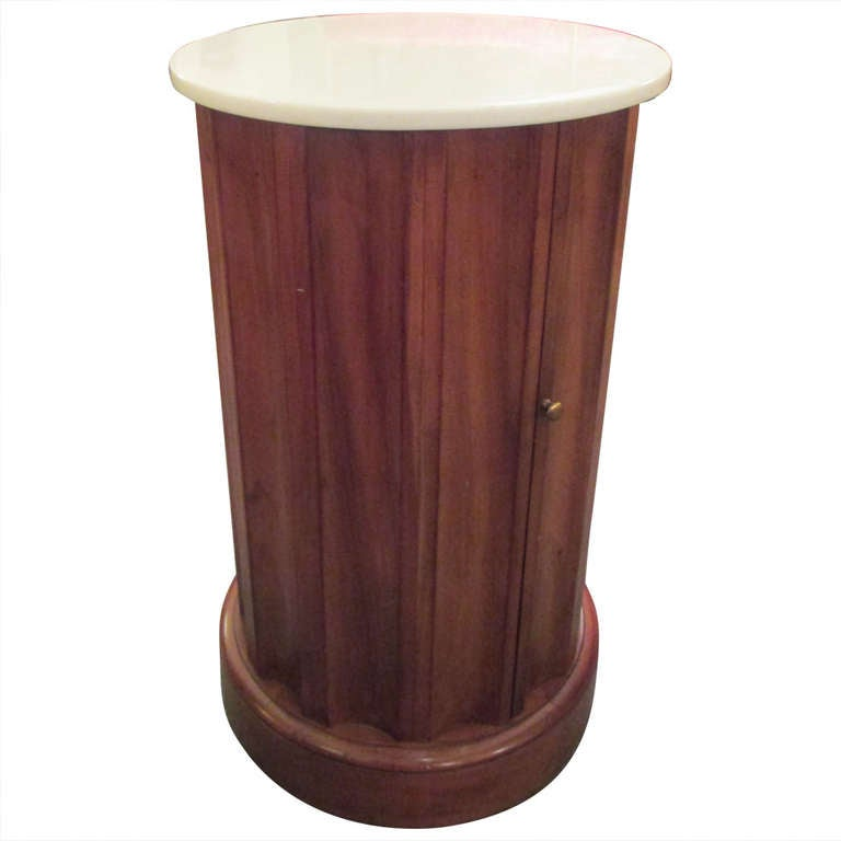 Fluted column end table or bar at 1stdibs for Table exit fly