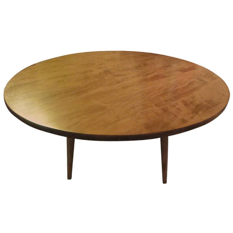 Paul McCobb Round Coffee Table 1