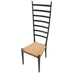 Gio Ponti Style Supperlegga Chair