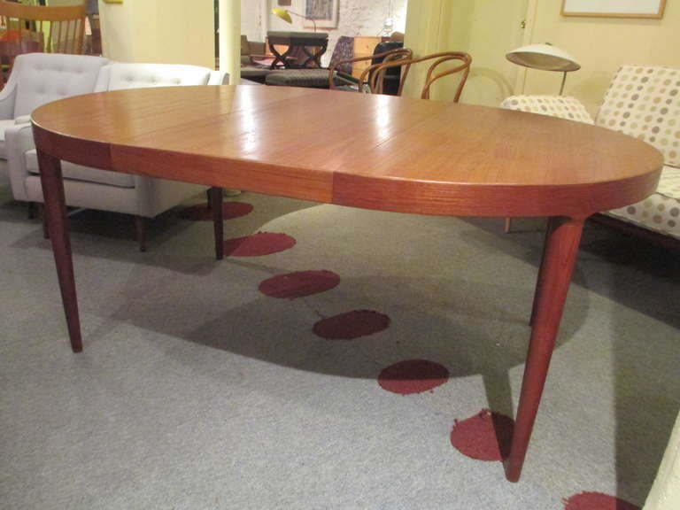this neils moeller teak round expandable dining table is no longer