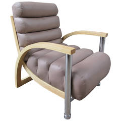 Jay Spectre Elipse Lounge Chair for Century