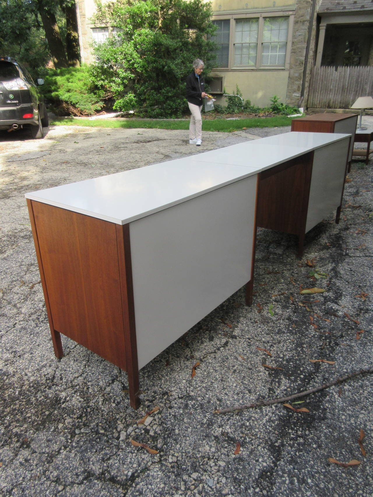Florence Knoll For Knoll Associates Walnut Chest And