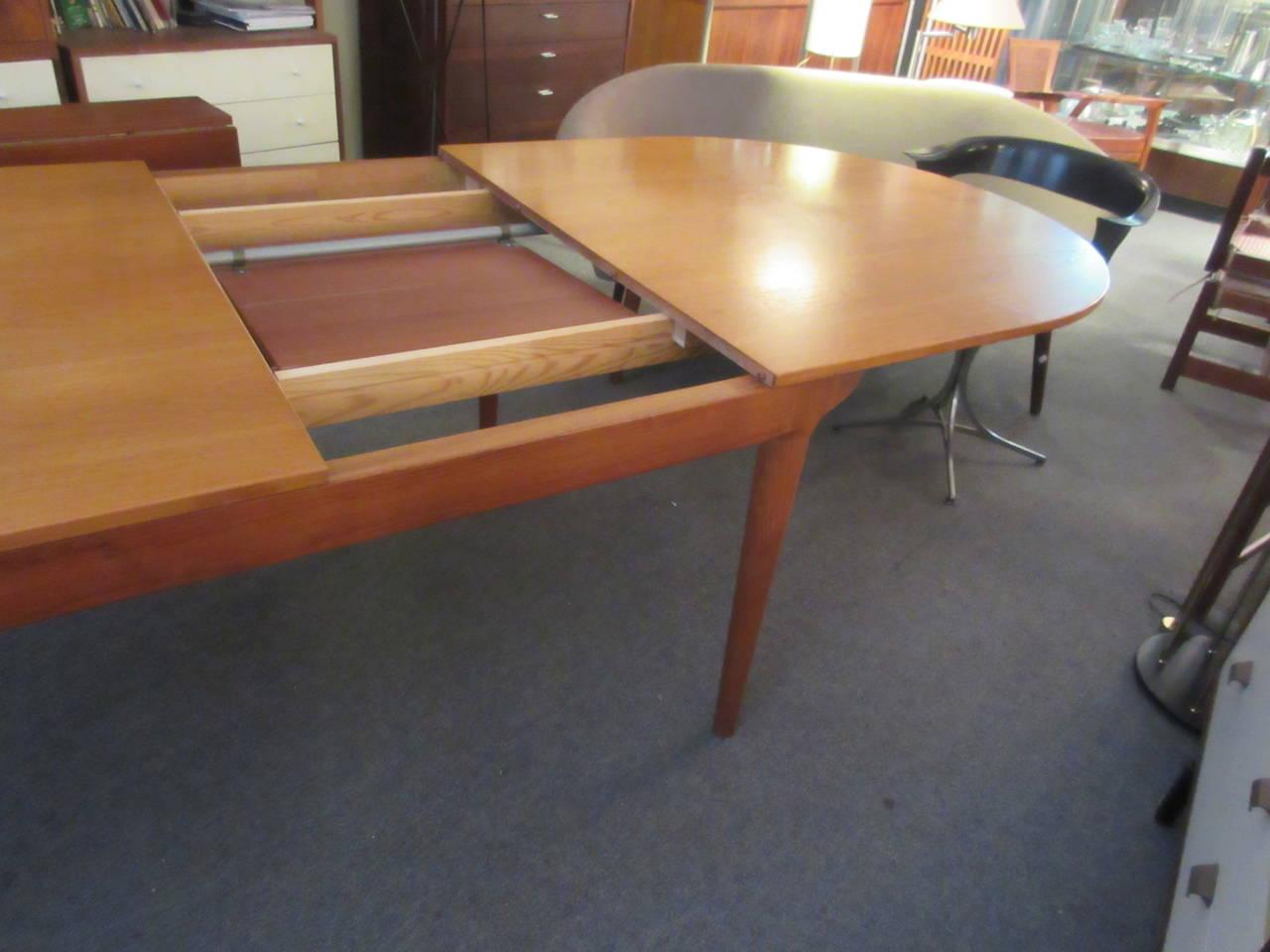 Moreddi Oval Danish Teak Dining Table 3