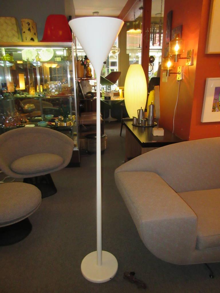 Nessen Studios Torchiere Floor Lamp 2