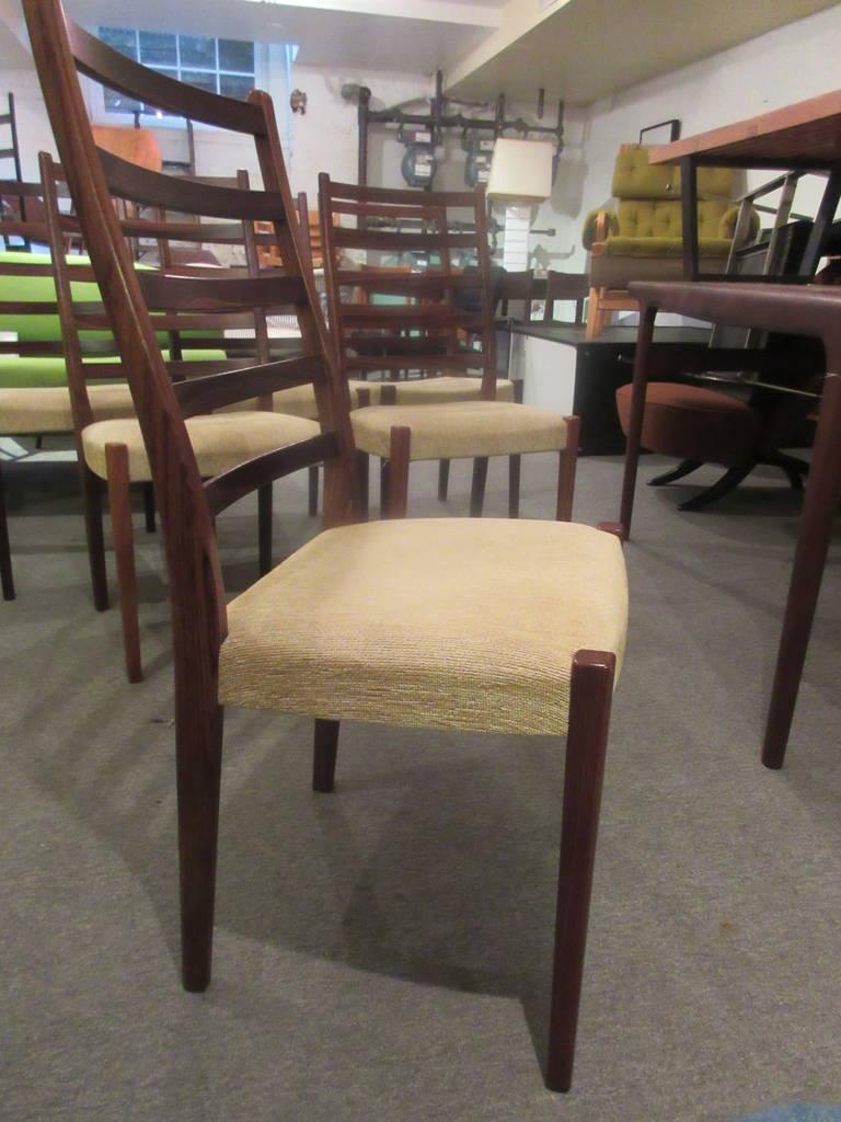 Svegards Markaryd Set Of Six Rosewood Dining Chairs At 1stdibs