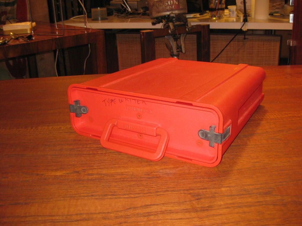 Ettorre Sottsass Valentine Olivetti Portable Typewriter For Sale 1