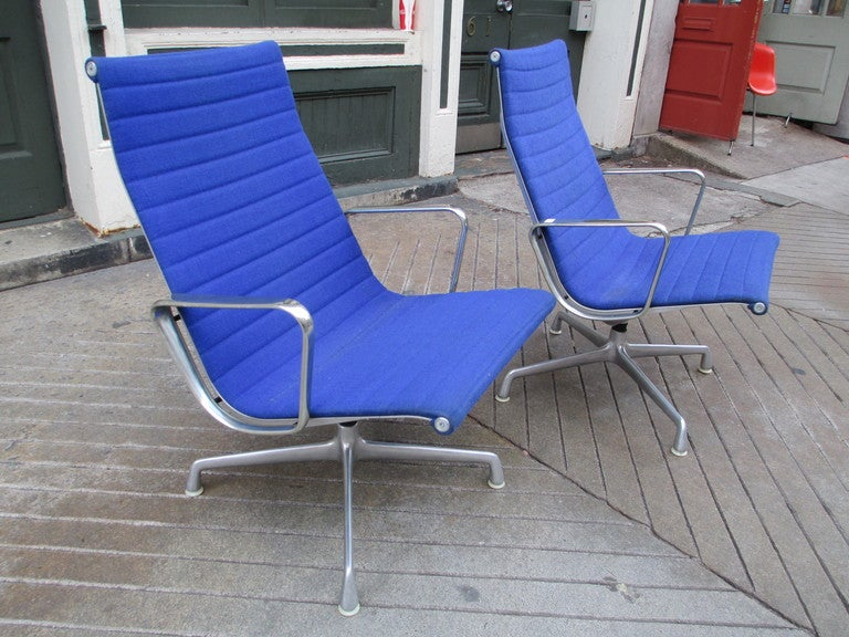 eames aluminum group lounge chair herman miller 1