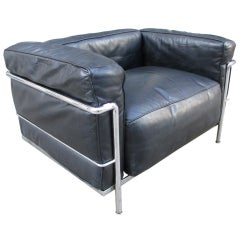 Le Corbusier LC3 Grande Comfort for Cassina Lounge Chair