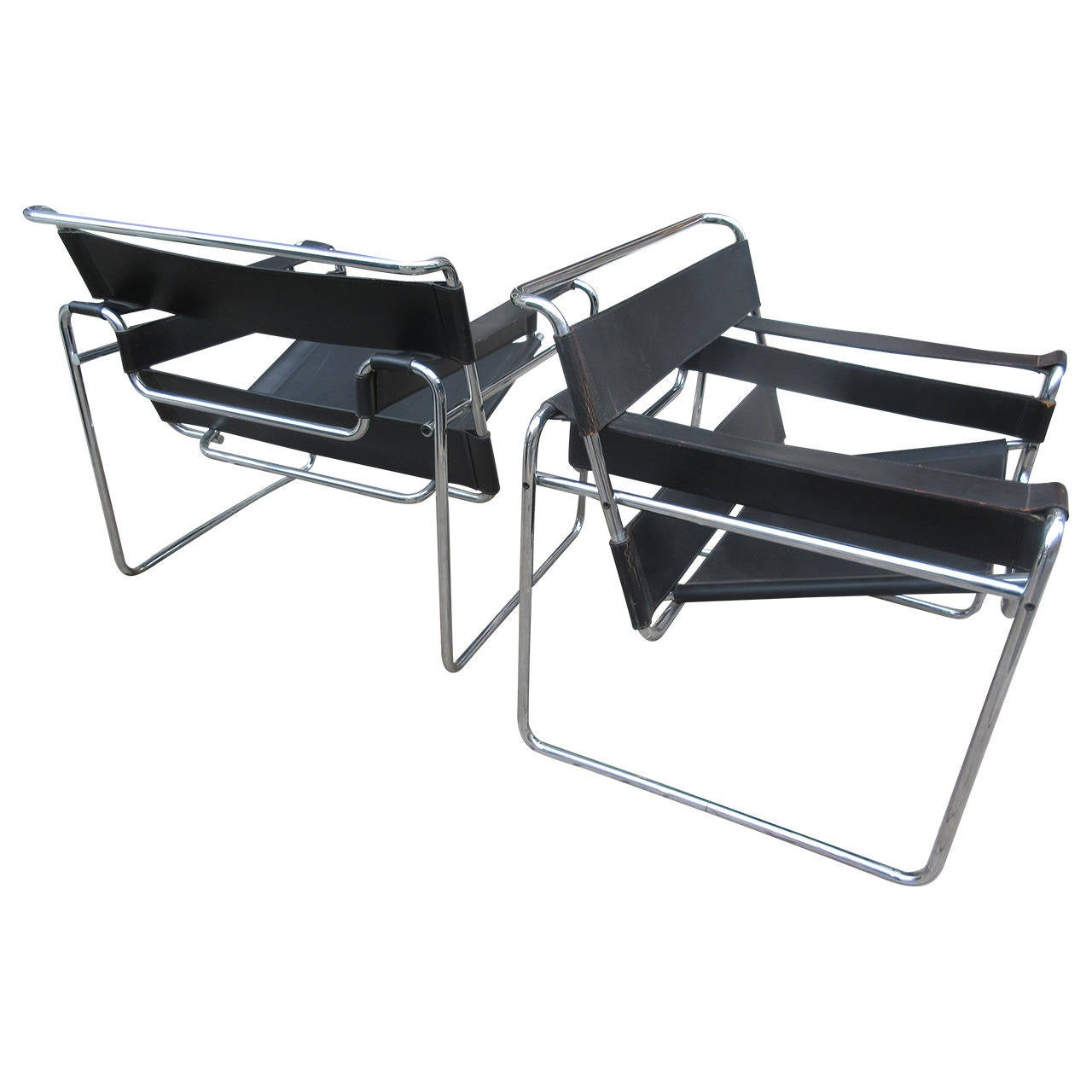 Breuer wassily chairs by knoll associates at 1stdibs for Knoll and associates