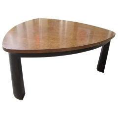 Edward Wormley for Dunbar Burled Carpathian Elm Coffee Table