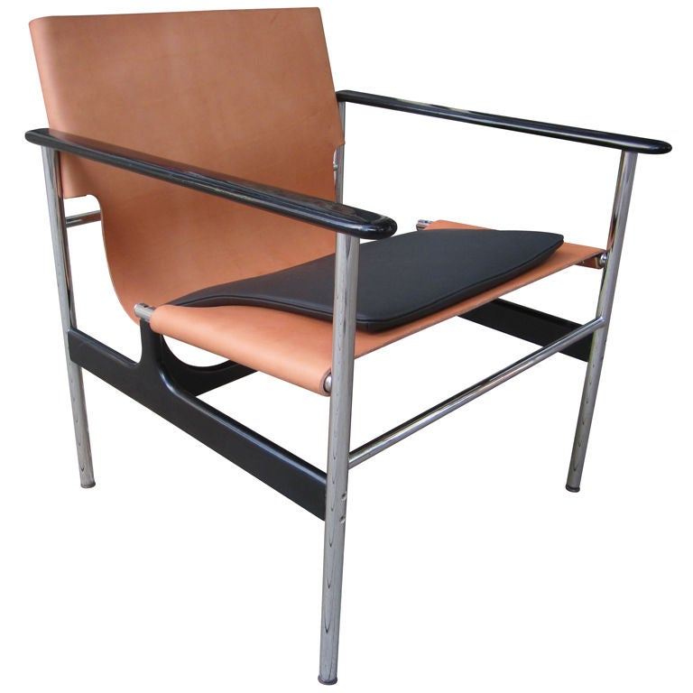 Charles pollack 657 armchair for knoll associates at 1stdibs for Knoll and associates