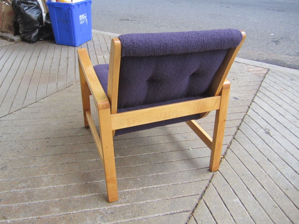 Jens Risom Arm Chair For Knoll Associates At 1stdibs
