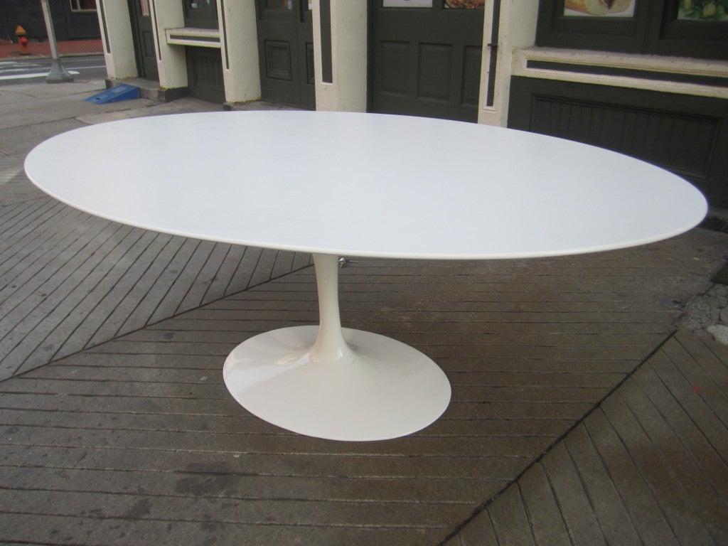 Saarinen Oval Marble Dining Table 1stdibs Second