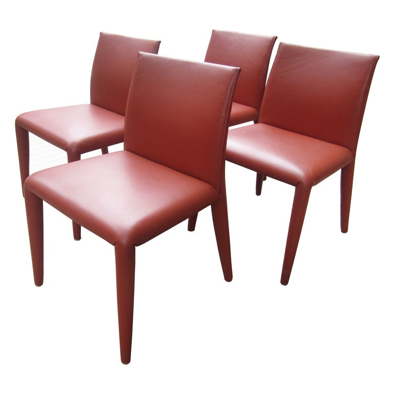 Mario Bellini Dining Chairs by Cassina at 1stdibs