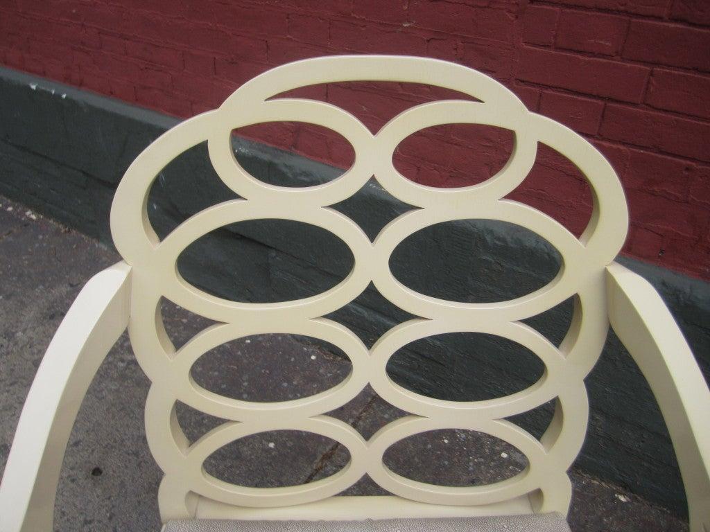 American Frances Elkins Loop Chair