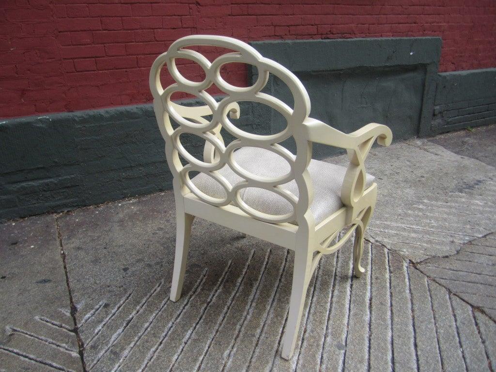 Mid-20th Century Frances Elkins Loop Chair