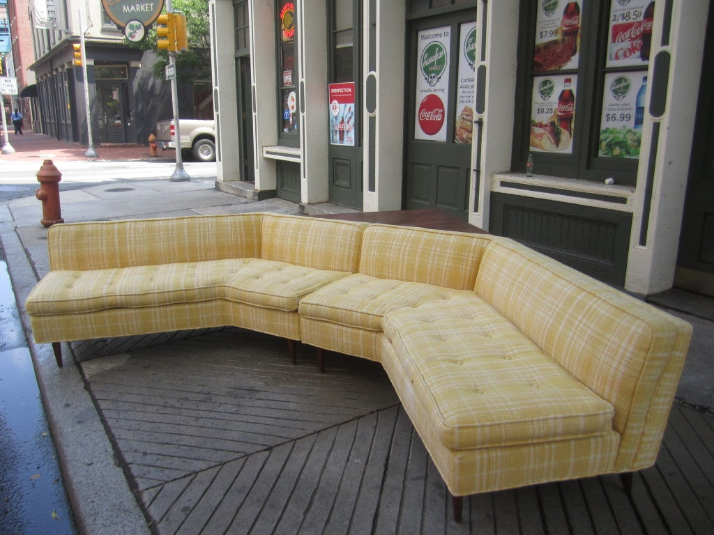Bertha Shaefer Sectional Sofa For M Singer And Sons At
