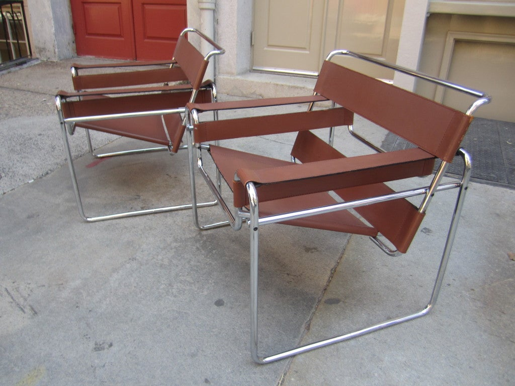 this pair marcel breuer wassily chairs for knoll is no longer