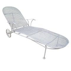 Russel Woodard Chaise Lounge