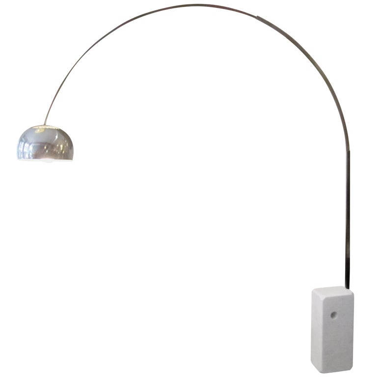 Achille Castiglioni For Flos Arco Lamp At 1stdibs