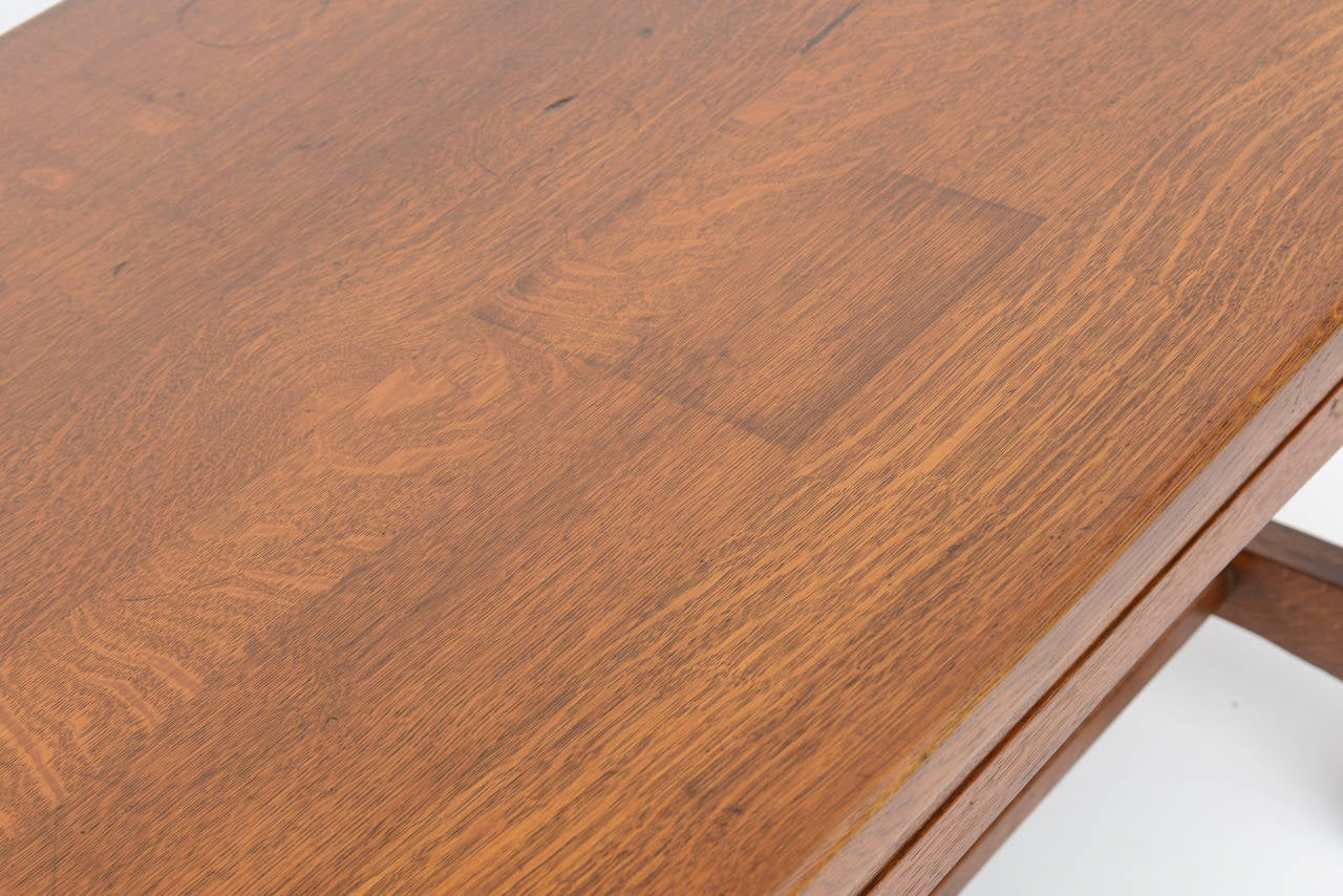 Limbert Library Table In Good Condition For Sale In West Palm Beach, FL