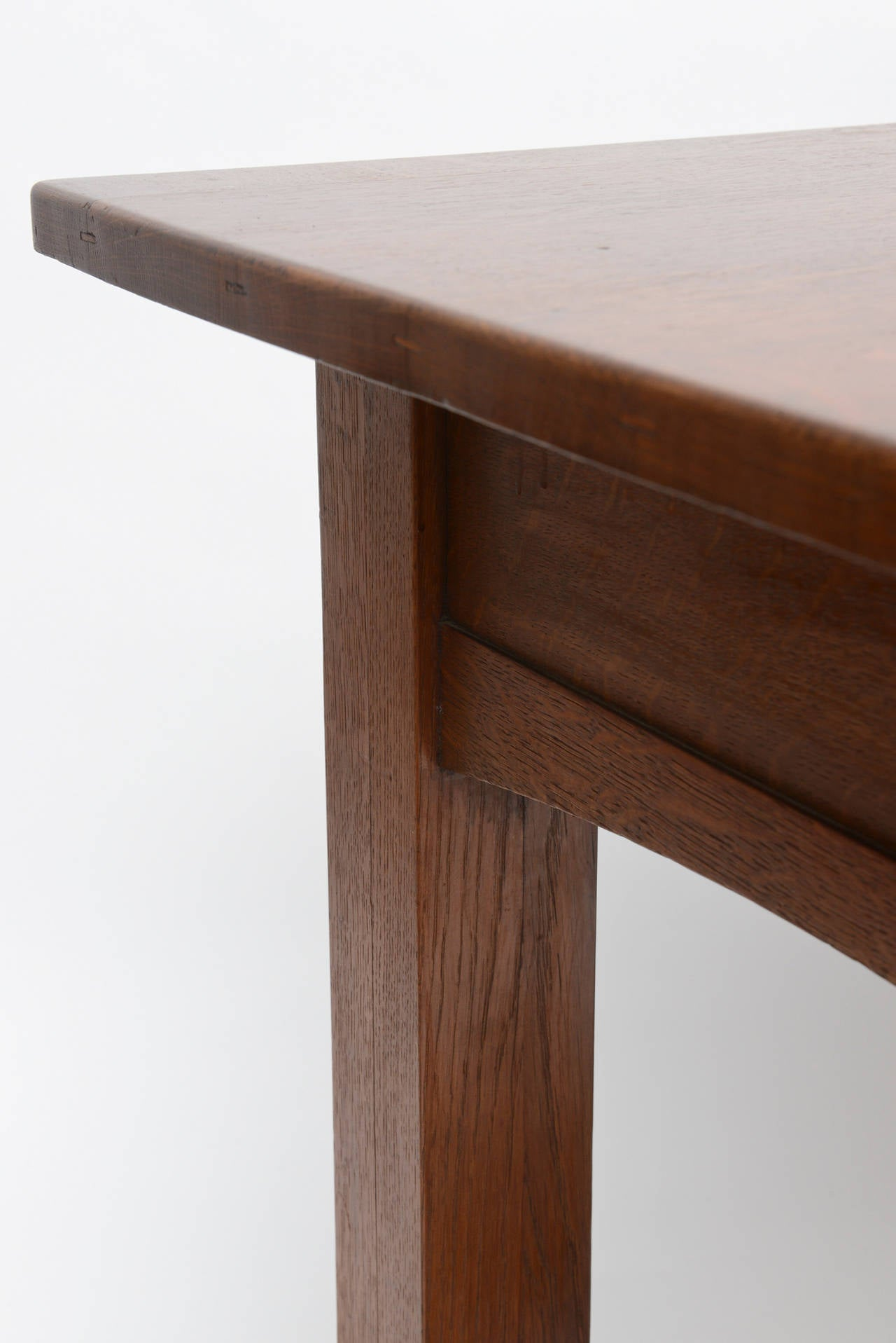 Copper Limbert Library Table For Sale