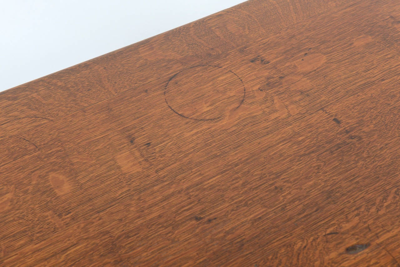 Early 20th Century Limbert Library Table For Sale
