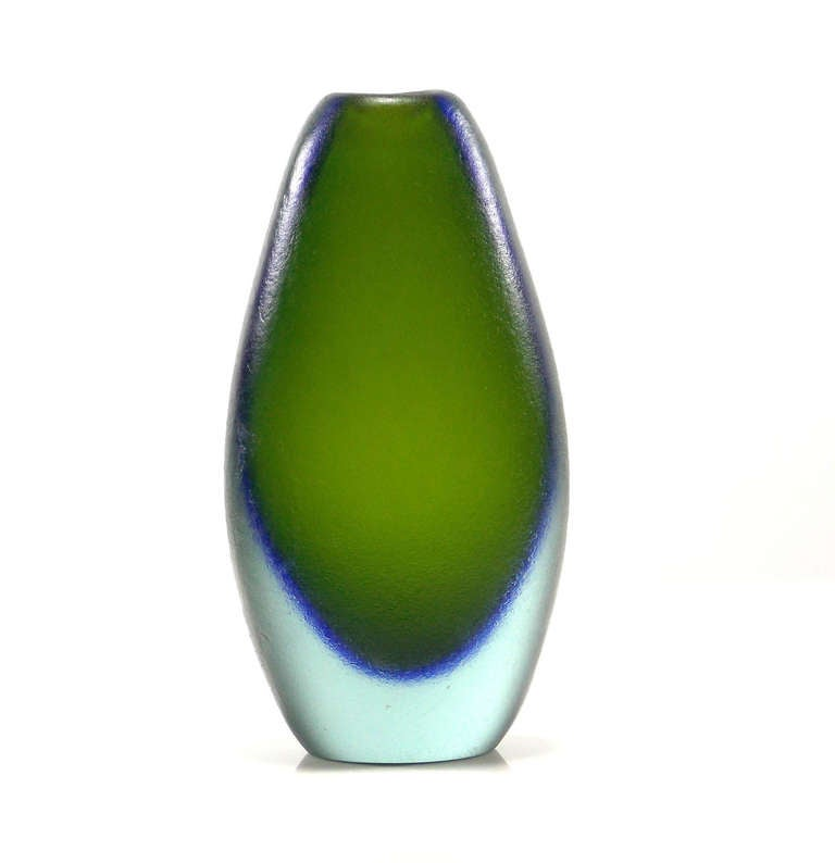 Italian Flavio Poli Corroso Vases For Sale