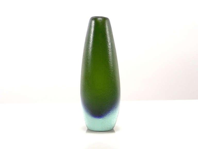 Mid-20th Century Flavio Poli Corroso Vases For Sale
