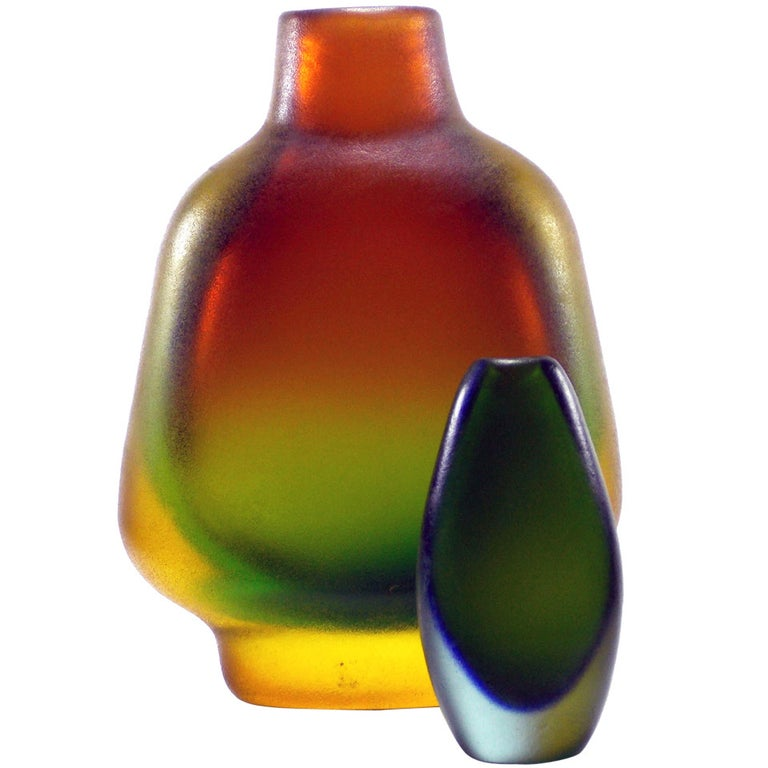 Flavio Poli Corroso Vases For Sale