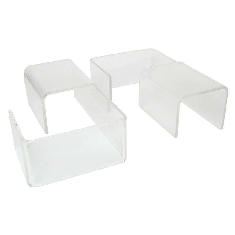 Modular Lucite Tables