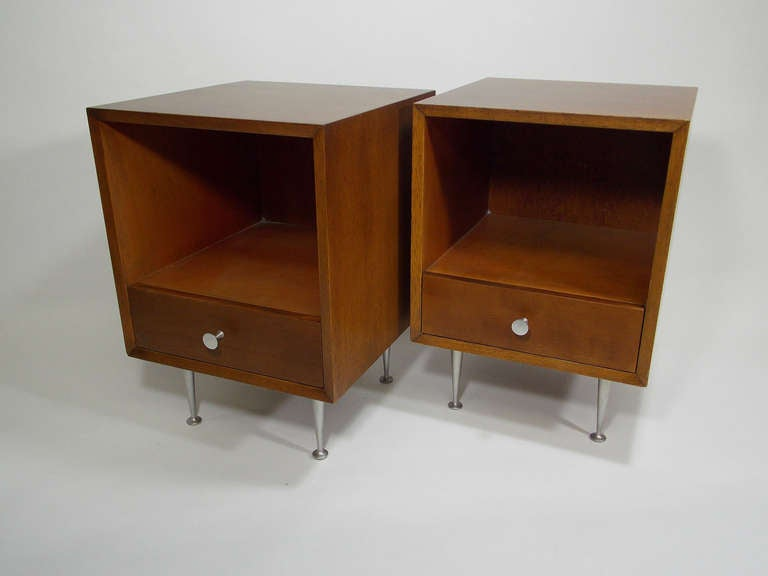 George Nelson Bedside Tables Nightstands at 1stdibs
