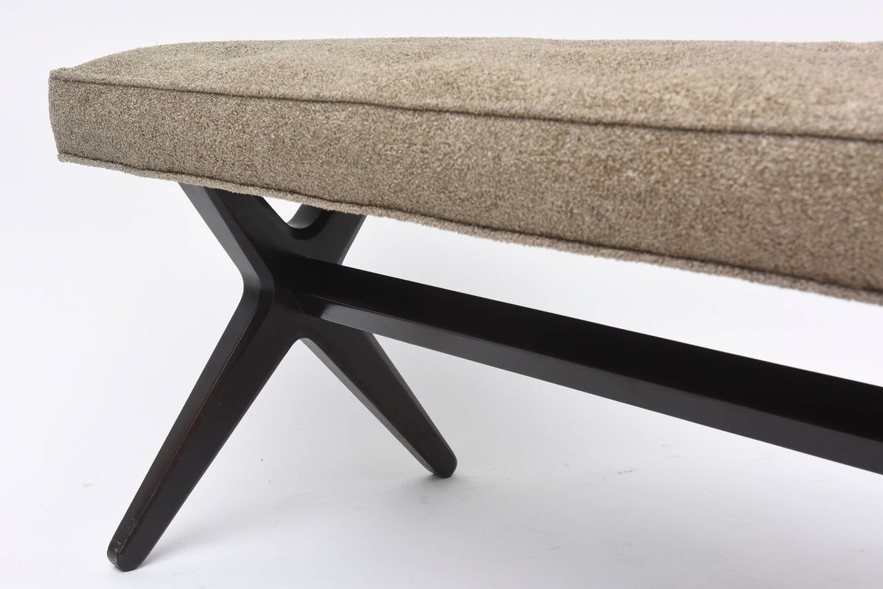 Edward Wormley Bench For Sale at 1stdibs